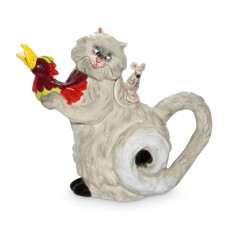 Cat Mouse Hen Teapot
