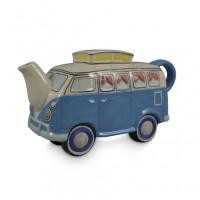 Blue Combi Van Teapot