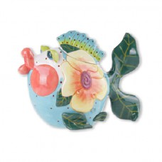 Mick Jagger Lips Fish Teapot