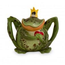 Prince Charming Frog Teapot