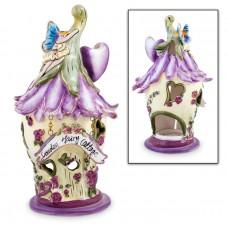 Purple Fairy Tealight House