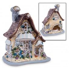 Fairy Tealight House Brown